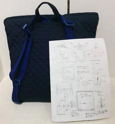 入園入学グッズ オーダー 指示書の一例 横浜コットンハリウッド