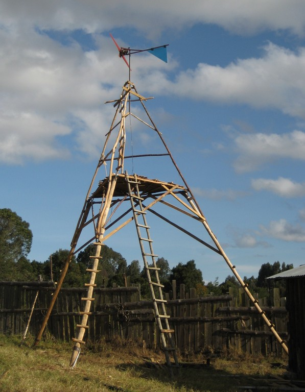 First generation windmill in Mafinga