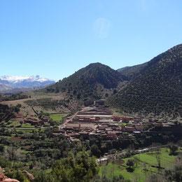 Senderismo acompañado por el valle del  Ourika