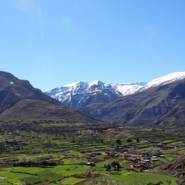 trekking dans le massif du Toubkal