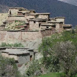 Senderismo con un guía marroquí  en el Alto Atlas