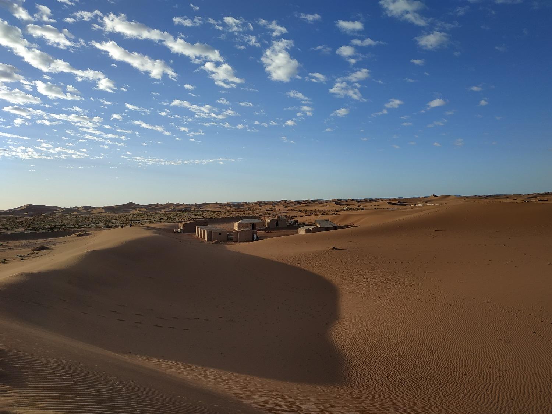 bivouac dans le Sahara
