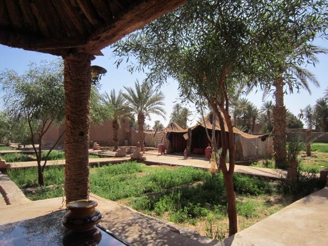 Les tentes berbères