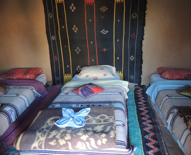 Chambre de la Kasbah Aladdin à M'Hamid