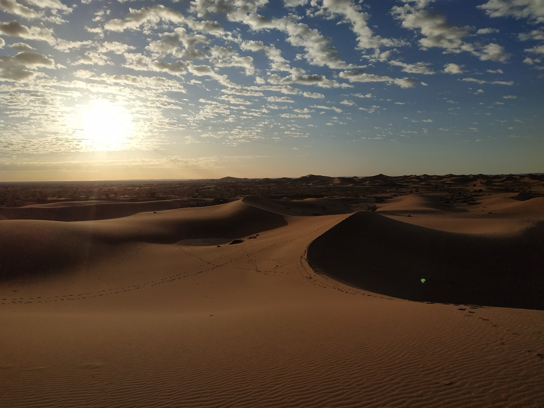 bivouac désert de Chegaga