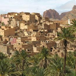 Trekking en la región de Tafraout  en marruecos