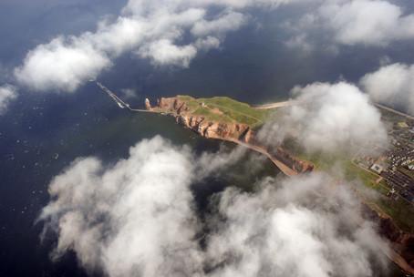 Lilo Tadday Helgoland Luftaufnahme II