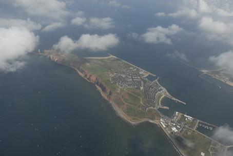 Lilo Tadday Helgoland Luftaufnahme I