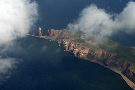 Lilo Tadday Helgoland Luftaufnahme IV