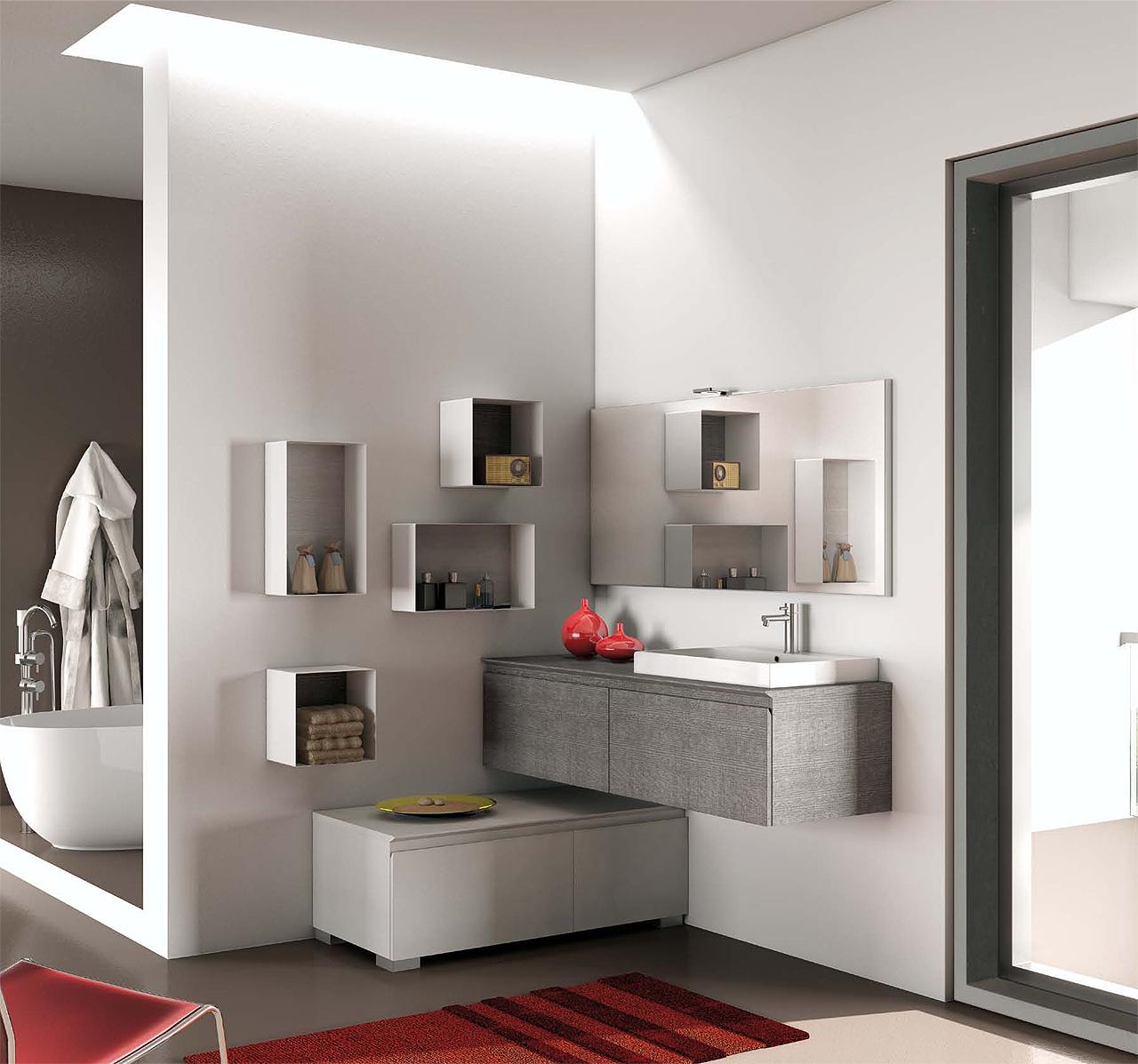Light design arredamento bagni progettazione e vendita di mobili e arredamento rieti - Interni bagni moderni ...