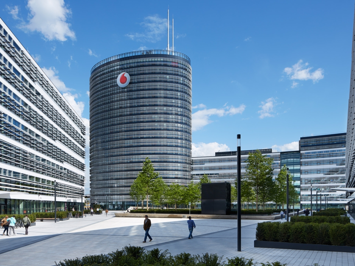 Vodafone Campus, Düsseldorf - ClubL94 Landscapearchitects