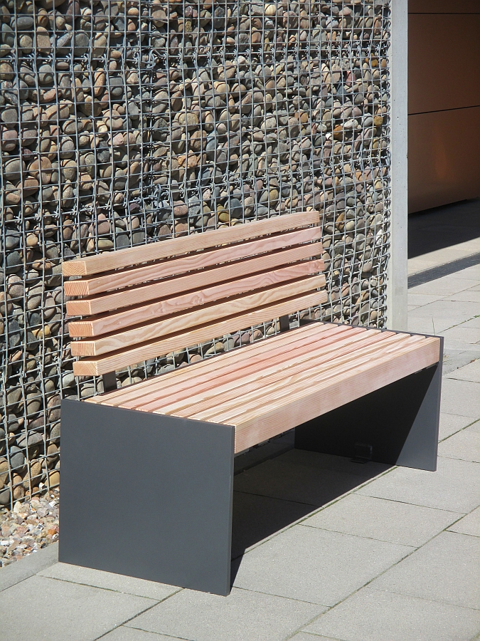Seats Steel/Wood