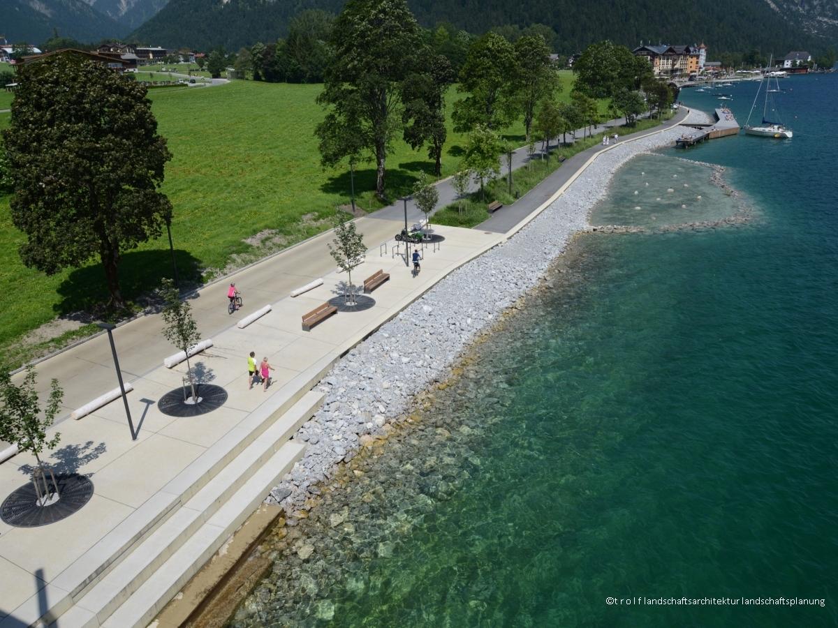 Seapromenade Pertisau - trolf.landscapearchitects
