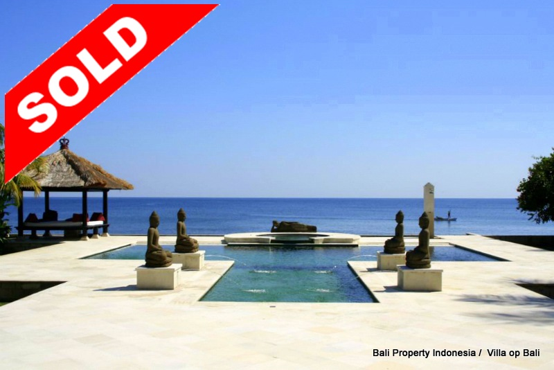 North Bali Beachfront property for sale, FSBO concept.