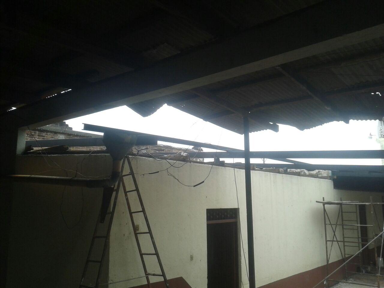 Proyecto de Cambio de Estructura y Techo al Salón Buena Ventura Domínguez.