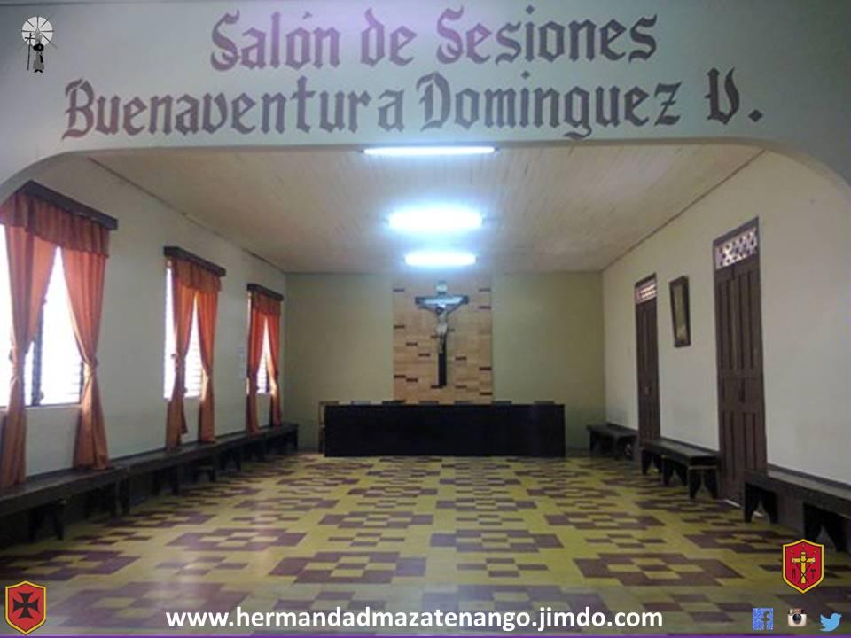 Restauración Total del Salón Buenaventura Domínguez