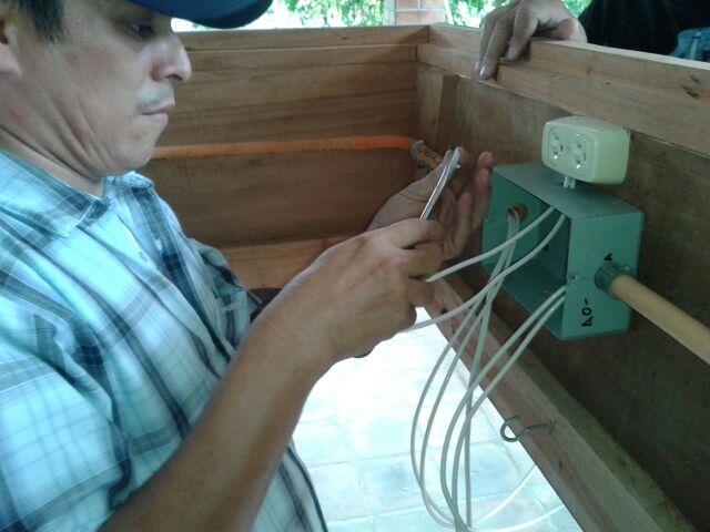 Un proyecto más de Junta Directiva que se ha logrado con la Bendición de Dios, Nueva Andarilla Infantil de 30 Brazos / Año 2016.