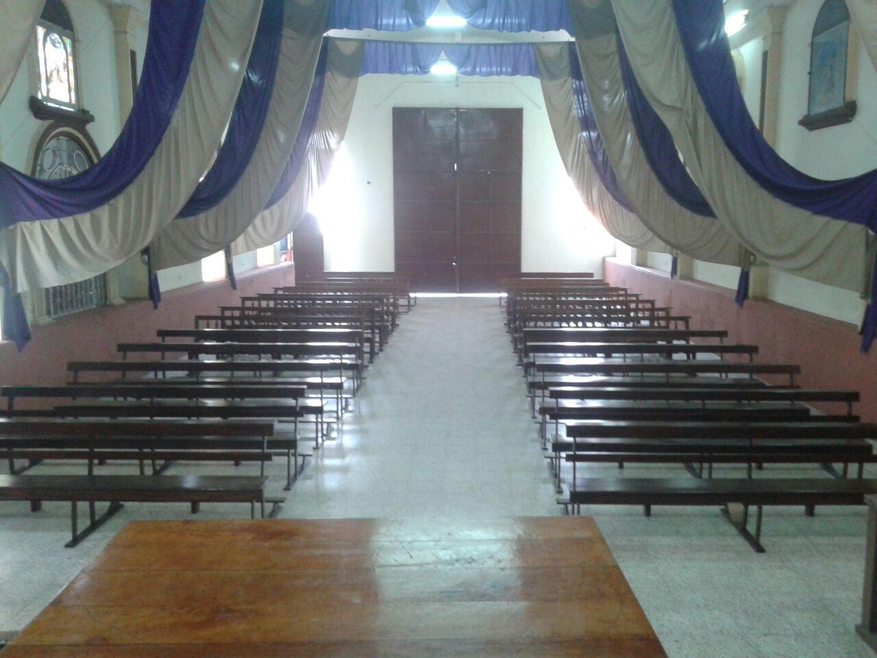 Proyecto 10 Bancas Nuevas para Iglesia El Calvario.