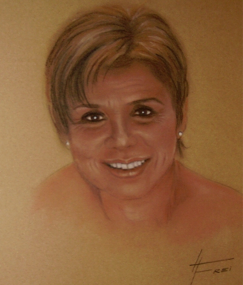 ART HFrei - Maria Kornelia - Pastell