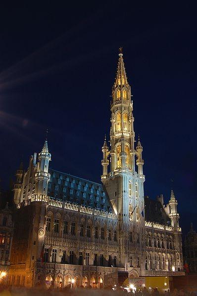 L'hôtel de ville de Bruxelles (Grand Place)