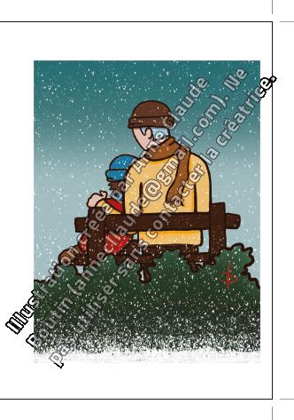 Vente de cartes de Noël et pour toute l'année