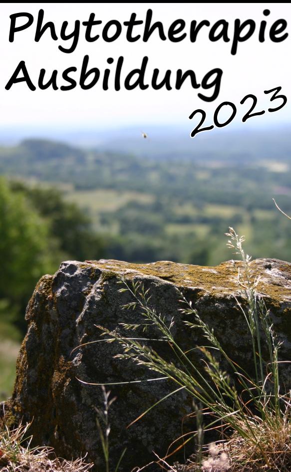 Phytotherapie Ausbildung 2016 Hessen