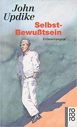 """John Updike """"Selbst-Bewusstsein"""", Erinnerungen, Buchcover"""