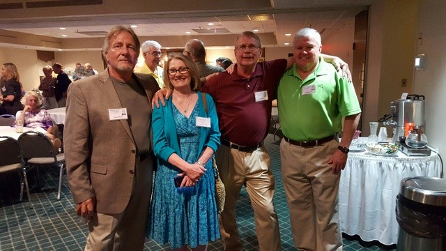 Ric Bondy, Maureen Donnely, Gary Bates, Mike Keyes.
