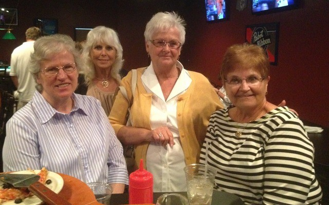 Mary Ann Rohen, Brenda Bowerman, Charlotte Baker, Kathy Rohen.