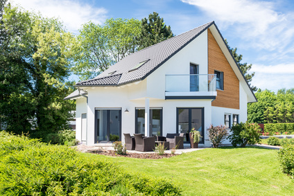 Einfamilienhaus mit Garten