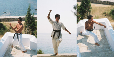 Sensei in Training in the Italian sun!