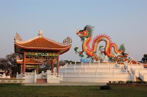 Chinesischer Tempel Nakhon Sawan