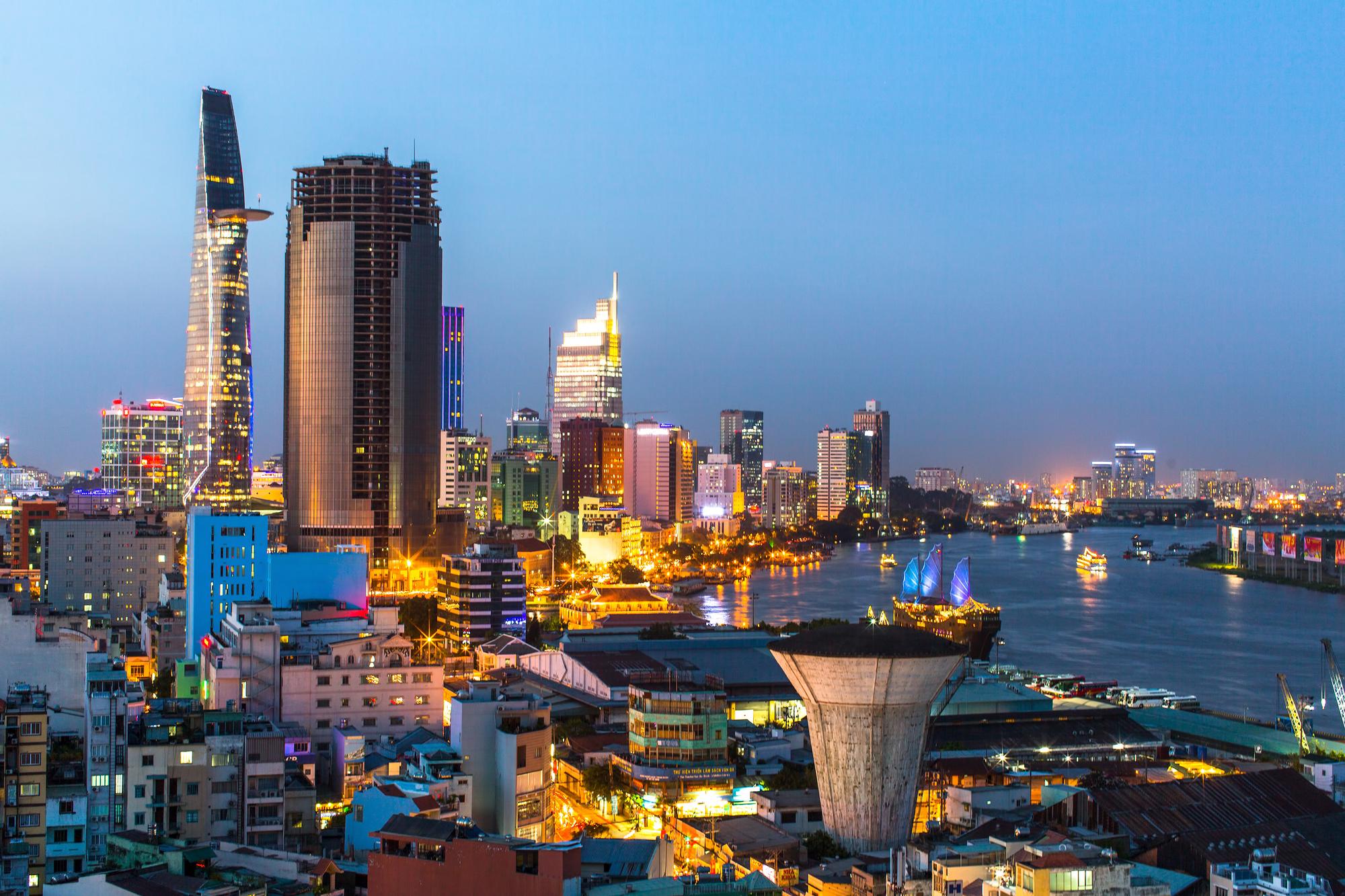 Saigon-Fluss