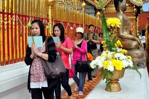 Thais am Wat Doi Suthep