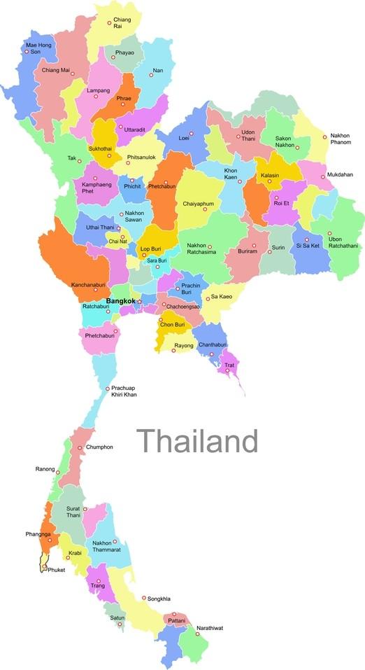 Thailands Regionen