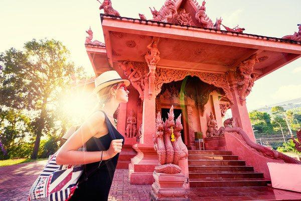 Tempel-Besichtigung auf einer Koh Samui Reise