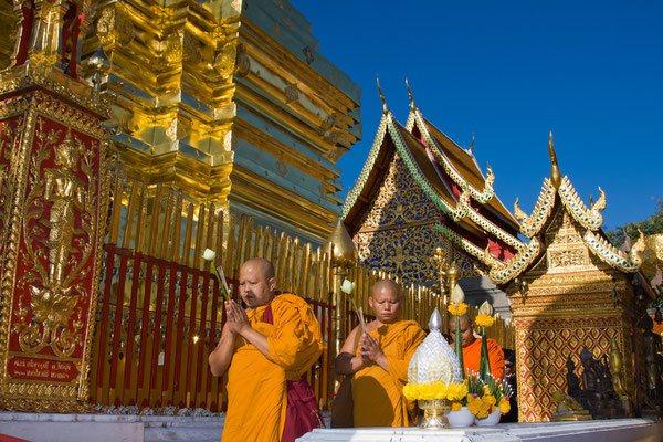 Historische Tempel-Geschichte in Chiang Mai