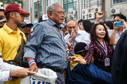 Suthep Thaugsuban - Führer der Anti-Regierung