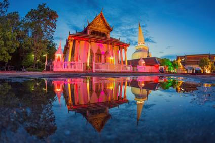 Wat Mahathat in Nakhon Si Thammarat