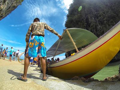 Lontailboat Phang Nga