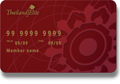Thailand Elite Member Card