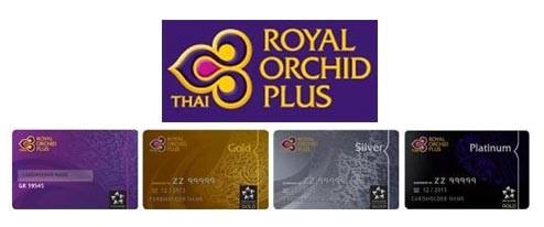 Royal Orchid Plus Vielflieger-Karten
