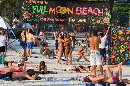 Die Vollmond-Party in Thailand, Koh Phangan