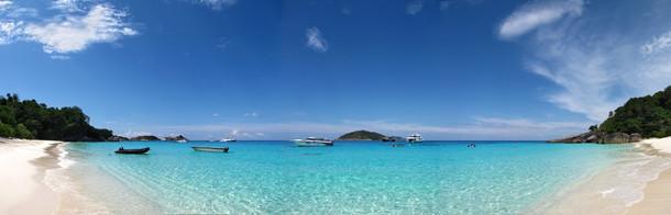 Segel- und Schnorcheltour bei den Similan Inseln