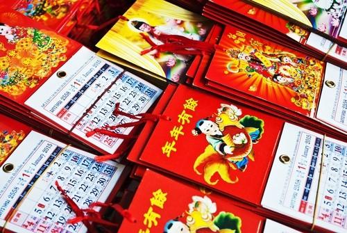 Chinesische Neujahrsfest Kalender