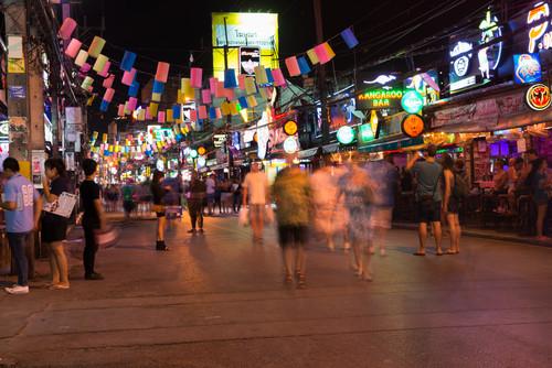 Barszene Thailands