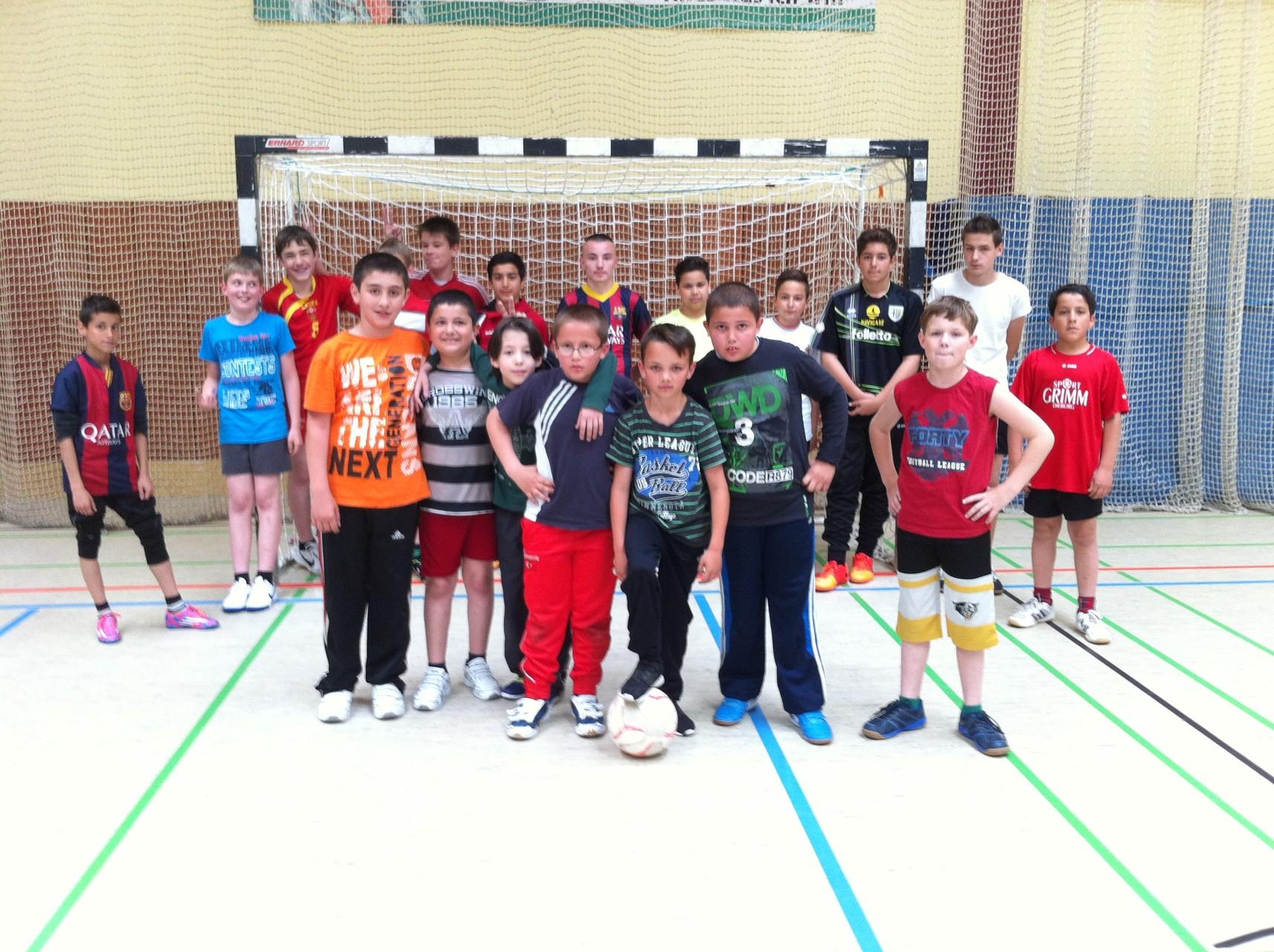 Am Nachmittag: Spiel und Spaß und Bewegung