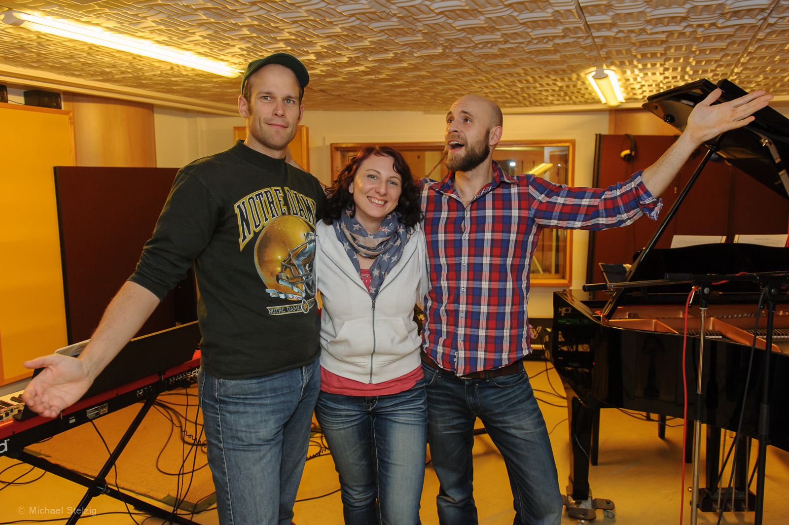 Studiosession mit den Troubleshooters