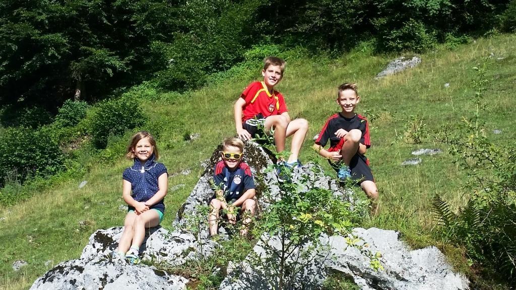 Wanderung mit den Kids zur Edernalm