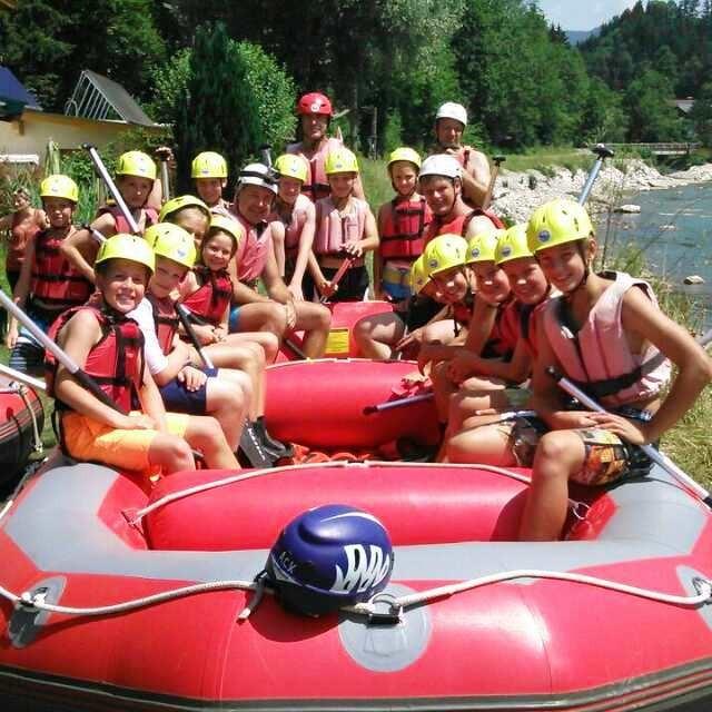 Rafting auf der Tiroler Ache